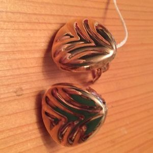 Jewelry - Silver gold plated ear clips